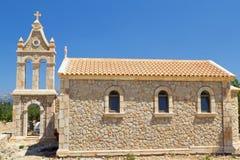 Traditional church at Kefalonia, Greece Stock Photos