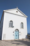 Traditional church at Kefalonia island Royalty Free Stock Images