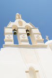 Traditional church at Prodromos local village at Paros island in Greece. Royalty Free Stock Photography