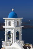 Traditional church at Santorini island Royalty Free Stock Image