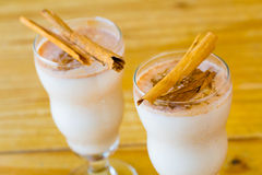 Traditional Cinnamon Horchata Stock Photos
