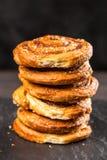 Traditional cinnamon rolls Stock Image