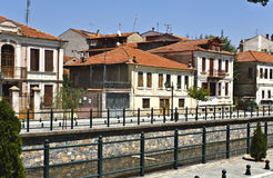 Traditional city of Florina at Greece Stock Image