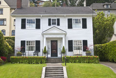 Traditional clapboard house Royalty Free Stock Photo