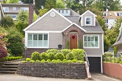 Free Traditional Clapboard House Royalty Free Stock Photos - 19633618