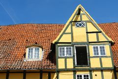Traditional classic style  Danish country house Stock Photo