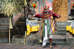 Traditional classical Barong theatre show on Bali Royalty Free Stock Photography