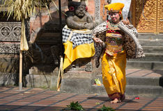 Traditional classical Barong theatre show on Bali Stock Photography