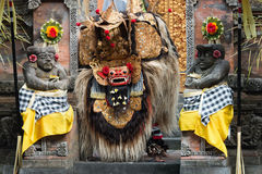 Traditional classical Barong theatre show on Bali Royalty Free Stock Image