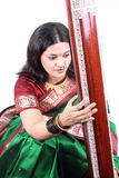Traditional Classical Singer Stock Image