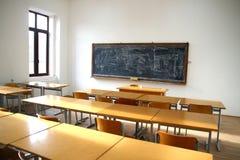 traditional classroom interior Stock Photos