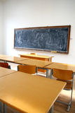 Traditional classroom interior Royalty Free Stock Photography