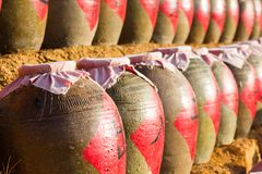 Traditional clay bowl Royalty Free Stock Photography