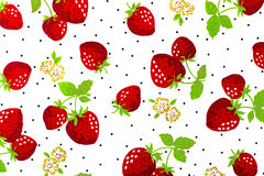 Traditional cloth. Traditional strawberry cloth white background Royalty Free Stock Images