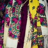 Traditional clothes in Zakopane, Poland. Royalty Free Stock Photo