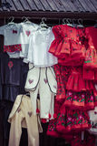 Traditional clothes in Zakopane, Poland. Stock Photo