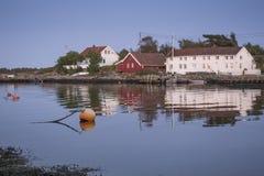 Traditional coastal community Stock Photo
