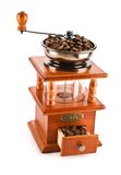 Traditional coffee grinder Royalty Free Stock Photos