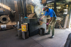 Traditional coffeemaker Stock Image