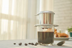 Traditional cofffee maker Royalty Free Stock Photography