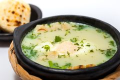 Changua: Traditional Colombian Poached Egg Soup