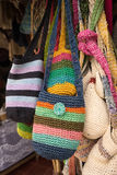 Traditional Colombian shoulder bags Stock Images