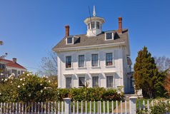 Traditional Colonial House royalty free stock photo