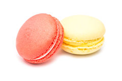 Traditional Colored French Macaroons Royalty Free Stock Images