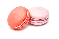 Traditional Colored French Macaroons Stock Images