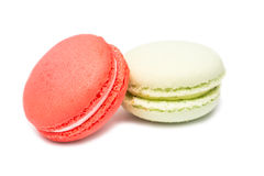 Traditional Colored French Macaroons Stock Image