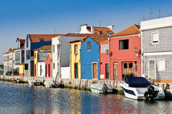 Traditional colorful houses Royalty Free Stock Photos