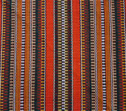 Traditional native fabric Royalty Free Stock Photos
