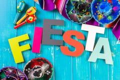 Fiesta stock photography