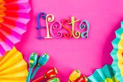Fiesta royalty free stock photography
