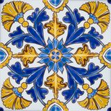 Traditional colorful tiles from Malta stock photos