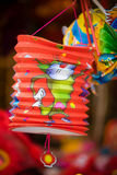 Traditional colour decorations in mid-autumn festival of Asia Stock Images