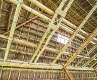 Traditional construction as the roof Royalty Free Stock Images