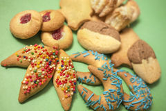 Traditional Cookies Stock Images