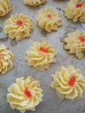 Traditional cookies. Raya traditional cookie Royalty Free Stock Photography