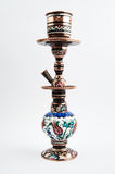 Traditional copper hookah stock photography