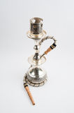 Traditional copper hookah royalty free stock image