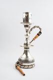 Traditional copper hookah stock photos