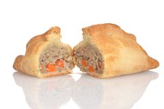 Traditional cornish pasty Royalty Free Stock Photography