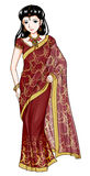 Traditional Costume. Indian woman in traditional costume Stock Photography