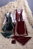 Traditional costumes Stock Image