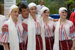 Traditional costumes Royalty Free Stock Image