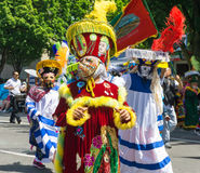 Traditional Costumes from Mexico Royalty Free Stock Images