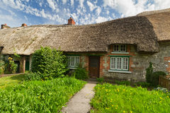 Traditional cottage house. Irish traditional cottage house of Adare Royalty Free Stock Photo