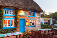 Traditional cottage house of Adare Royalty Free Stock Image
