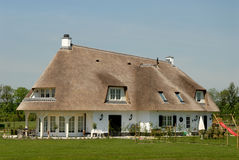 Traditional cottage in the Netherlands Stock Photos